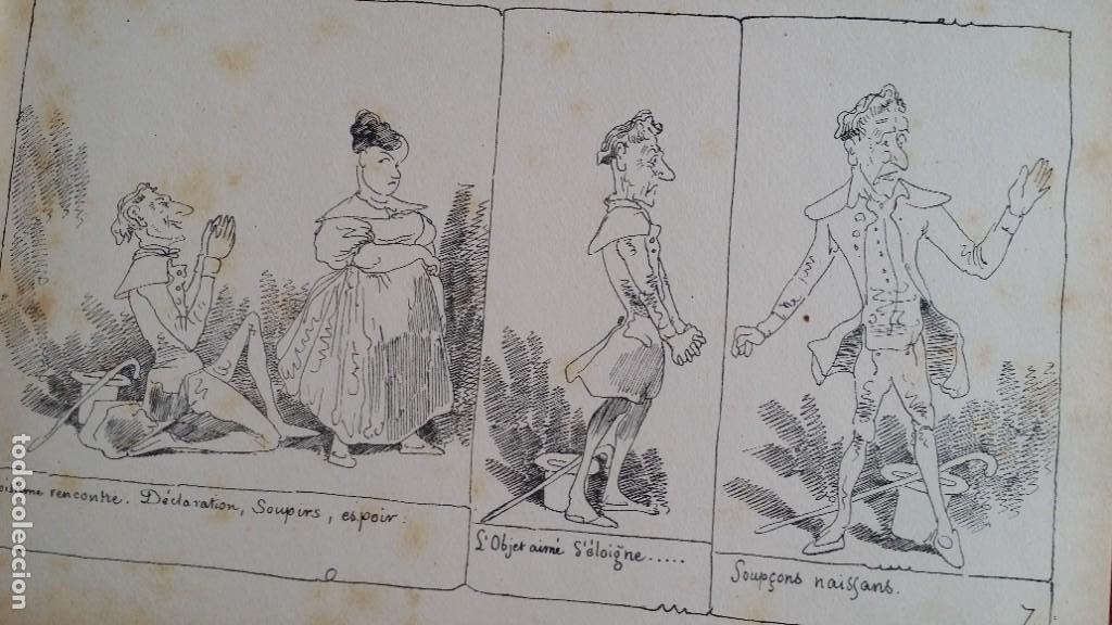 Varios objetos de Arte: Rodolphe TOPFFER (1799-1846). Histoire de Mr. Vieux-Bois Paris, 1860, CARICATURAS, COMIC - Foto 13 - 207812783
