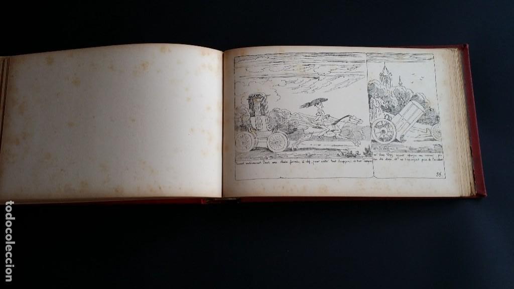 Varios objetos de Arte: Rodolphe TOPFFER (1799-1846). Histoire de Mr. Vieux-Bois Paris, 1860, CARICATURAS, COMIC - Foto 18 - 207812783