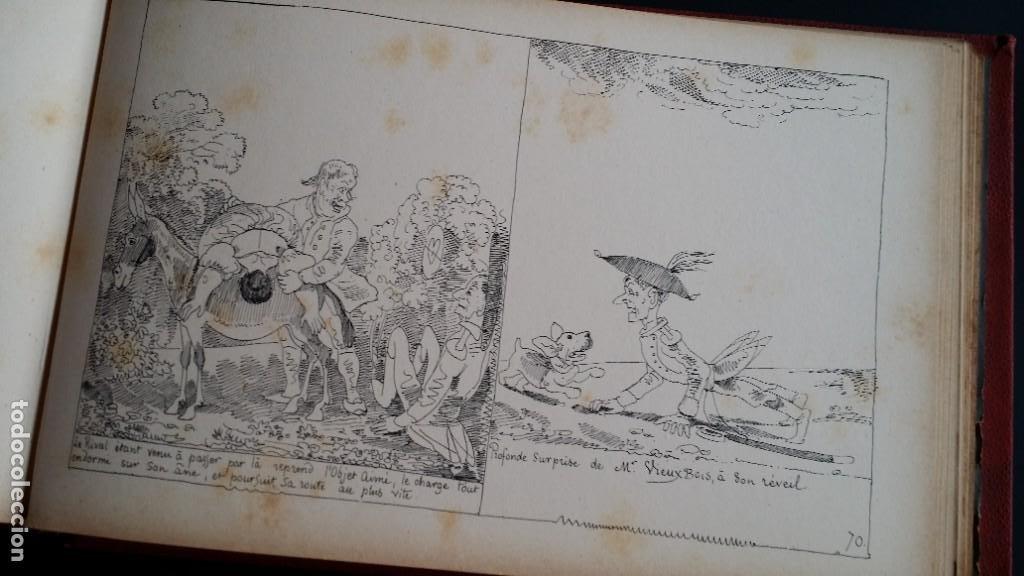 Varios objetos de Arte: Rodolphe TOPFFER (1799-1846). Histoire de Mr. Vieux-Bois Paris, 1860, CARICATURAS, COMIC - Foto 19 - 207812783