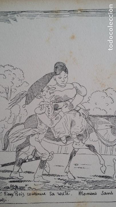 Varios objetos de Arte: Rodolphe TOPFFER (1799-1846). Histoire de Mr. Vieux-Bois Paris, 1860, CARICATURAS, COMIC - Foto 20 - 207812783