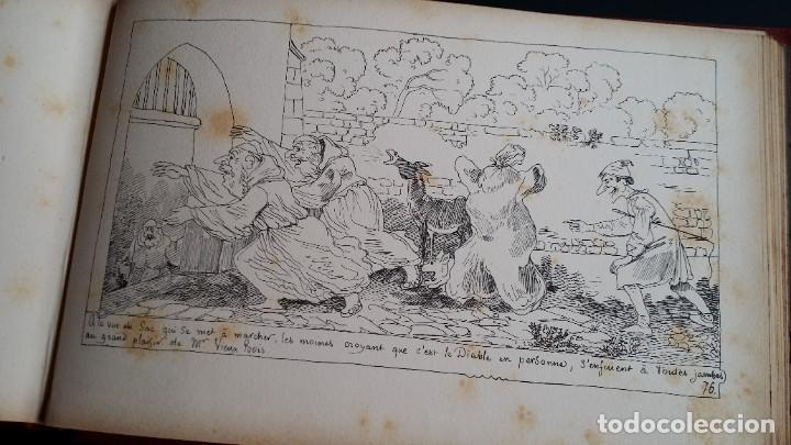 Varios objetos de Arte: Rodolphe TOPFFER (1799-1846). Histoire de Mr. Vieux-Bois Paris, 1860, CARICATURAS, COMIC - Foto 21 - 207812783