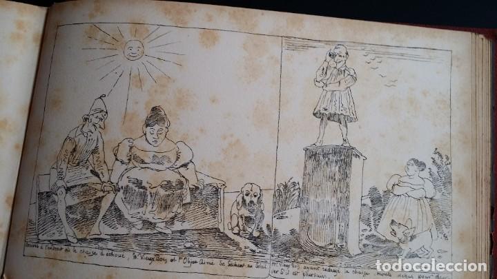 Varios objetos de Arte: Rodolphe TOPFFER (1799-1846). Histoire de Mr. Vieux-Bois Paris, 1860, CARICATURAS, COMIC - Foto 22 - 207812783