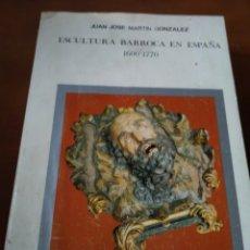 Varios objetos de Arte: ESCULTURA BARROCA EN ESPAÑA. Lote 208189495