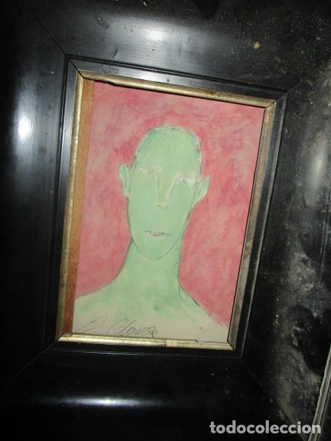 Varios objetos de Arte: retrato antigua pintura ,firmada - Foto 3 - 208226445