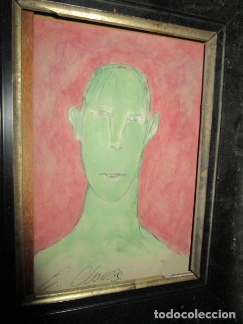 Varios objetos de Arte: retrato antigua pintura ,firmada - Foto 2 - 208226445