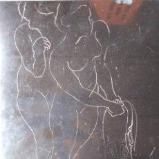 Arte: DESNUDO EROTICO MUJERES EN MARMOL NEGRO. Lote 208309435