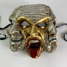 Varios objetos de Arte: MASCARA VENECIANA HECHA A MANO, CARNAVAL. S.XX.. Lote 208689640