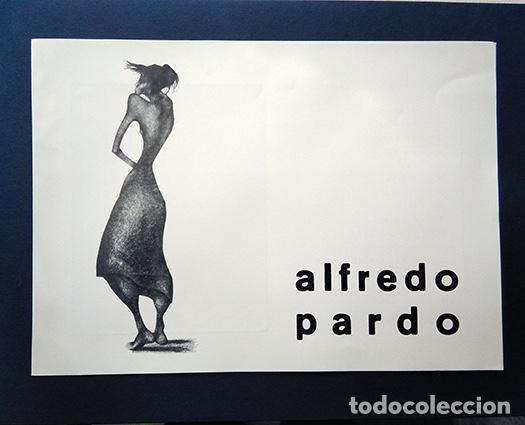 ALFREDO PARDO · DIBUJOS. GALERÍA GRIN - GHO, MADRID, 1965 (Arte - Varios Objetos de Arte)