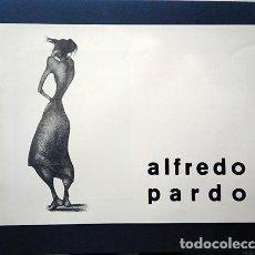 Varios objetos de Arte: ALFREDO PARDO · DIBUJOS. GALERÍA GRIN - GHO, MADRID, 1965. Lote 208974440