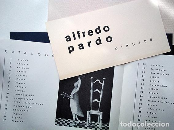 Varios objetos de Arte: Alfredo Pardo · Dibujos. Galería Grin - Gho, Madrid, 1965 - Foto 2 - 208974440