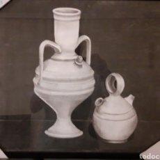 Varios objetos de Arte: BOTIJOS LEVANTINOS - CARBONCILLO. Lote 209330505