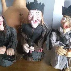 Varios objetos de Arte: BRUJAS PAPEL MACHE, AQUELARRE. Lote 209854420