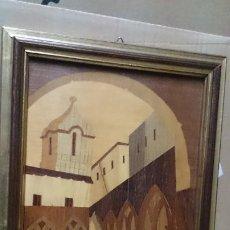 Varios objetos de Arte: CUADRO DE MARQUETERIA. Lote 210352108