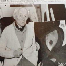 Arte: JOAN MIRÓ, FOTOGRAFÍA DE 1978. Lote 211498855