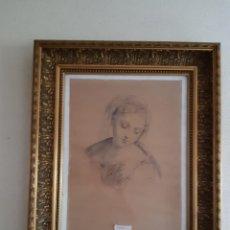 Varios objetos de Arte: CUADRO MARCO MADERA. Lote 211516160