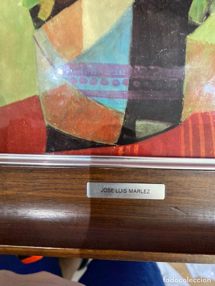 Varios objetos de Arte: ESMALTE AL FUEGO. Jose Luis Marlez AÑOS 70 - Foto 3 - 211683599