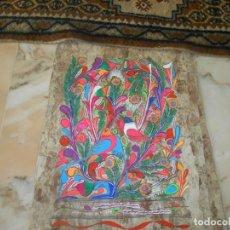 Varios objetos de Arte: TRES PINTURAS SOBRE LAMINAS DE MADERA ?MEJICO¿. Lote 211747387