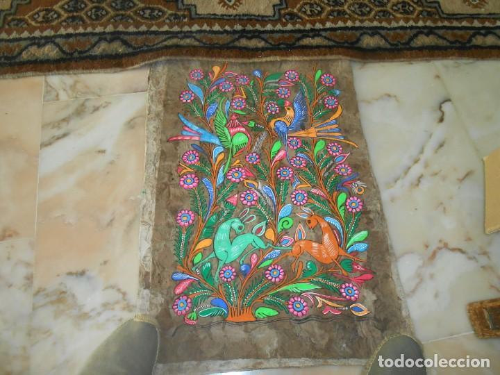 Varios objetos de Arte: TRES PINTURAS SOBRE LAMINAS DE MADERA ?MEJICO¿ - Foto 2 - 211747387