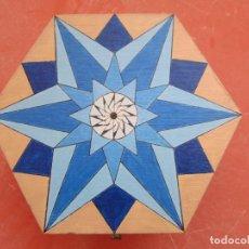 Varios objetos de Arte: CAJA DECORADA COMPLETAMENTE A MANO, OBJETO ÚNICO.. Lote 211877296