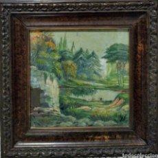 Varios objetos de Arte: PRECIOSO ÓLEO MUY ANTIGUO, ORIGINAL. Lote 211889892