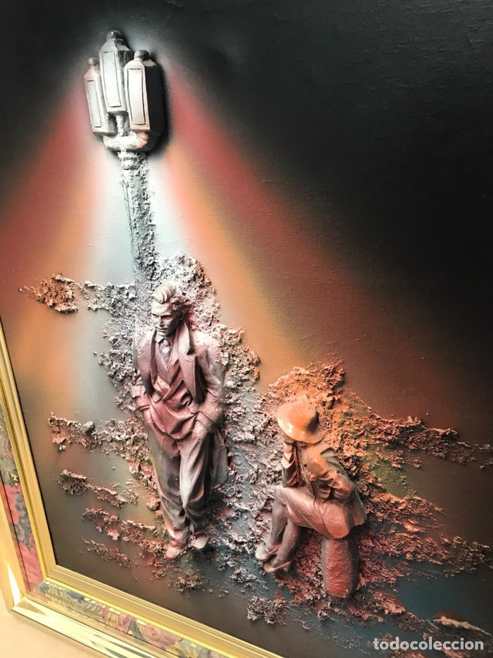 Varios objetos de Arte: RARO CUADRO TRIDIMENSIONAL FIRMADO - Foto 2 - 212548742