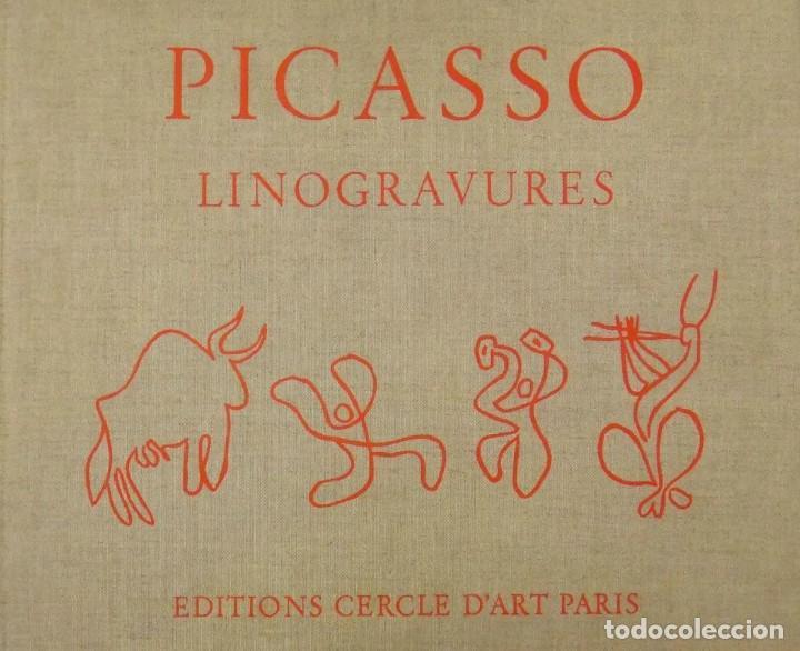 Varios objetos de Arte: Pablo Picasso Linogravures Grabados al linoleo - Foto 3 - 213029012