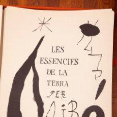 Varios objetos de Arte: JOAN MIRÓ - LES ESSENCIES DE LA TERRA - 1968. Lote 213815211