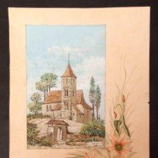 Varios objetos de Arte: ORIGINAL PARA CARTEL - 1909 - J. TOMÁS. Lote 213881110