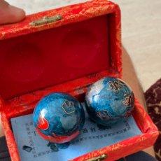 Varios objetos de Arte: BOLAS CHINAS ANTIGUAS EN SU CAJA. Lote 214183838