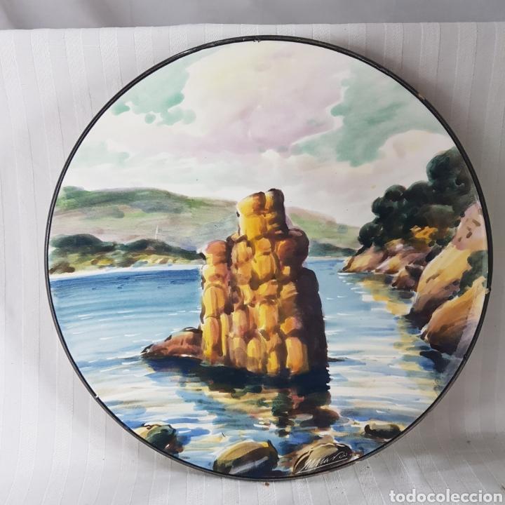Varios objetos de Arte: Platos Pintados a Mano por M. Marco - Foto 4 - 214214492