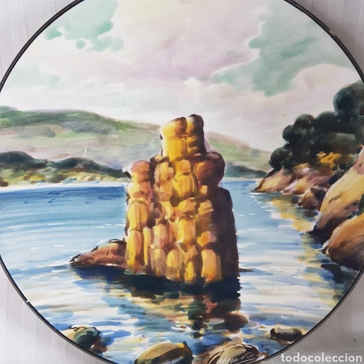 Varios objetos de Arte: Platos Pintados a Mano por M. Marco - Foto 8 - 214214492