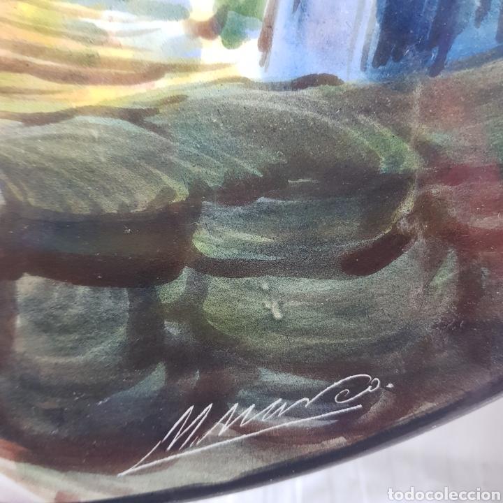 Varios objetos de Arte: Platos Pintados a Mano por M. Marco - Foto 9 - 214214492