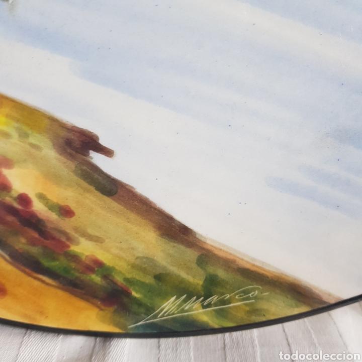Varios objetos de Arte: Platos Pintados a Mano por M. Marco - Foto 10 - 214214492