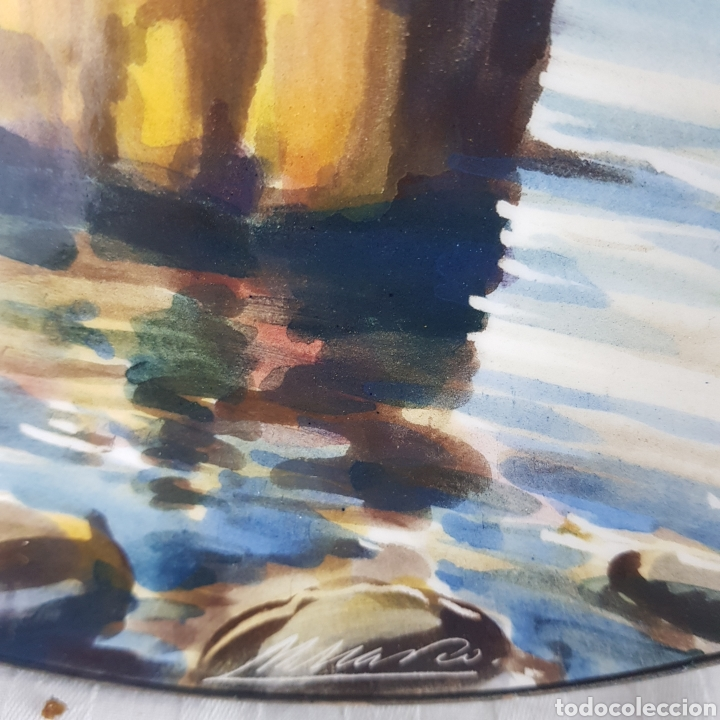 Varios objetos de Arte: Platos Pintados a Mano por M. Marco - Foto 11 - 214214492