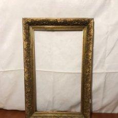 Varios objetos de Arte: ANTIGUO MARCO PAN DE ORO. Lote 214228063