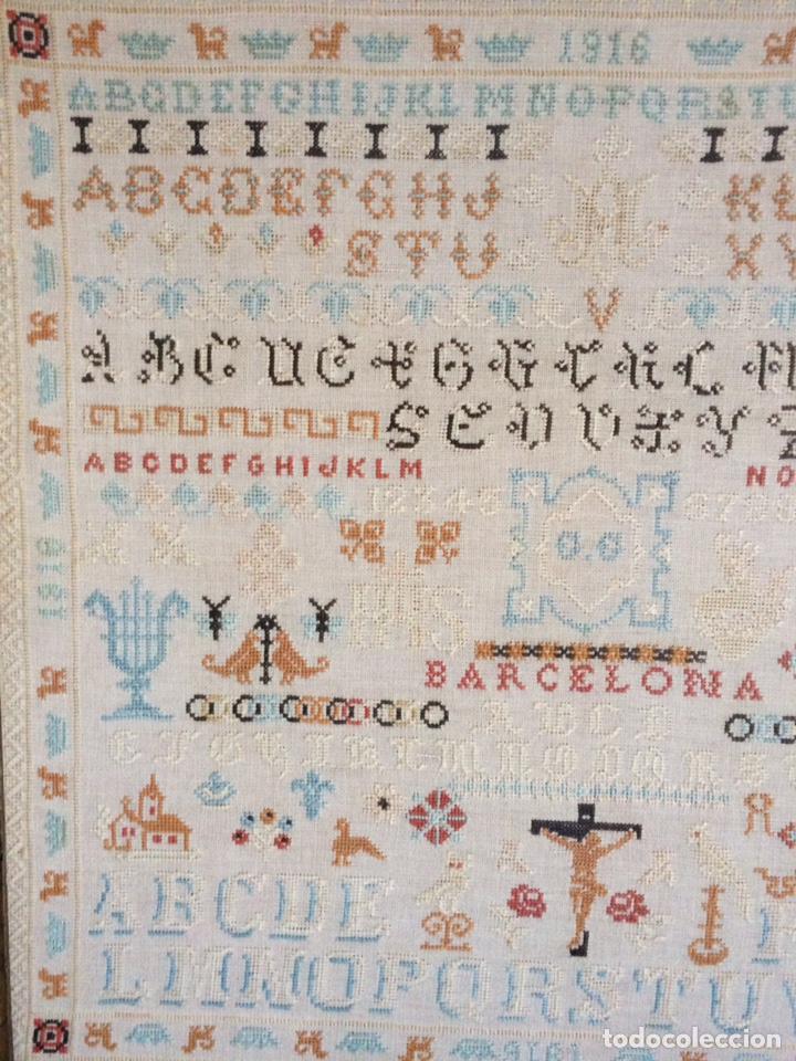 Varios objetos de Arte: Antiguo bordado de 1916 - Foto 4 - 214463178