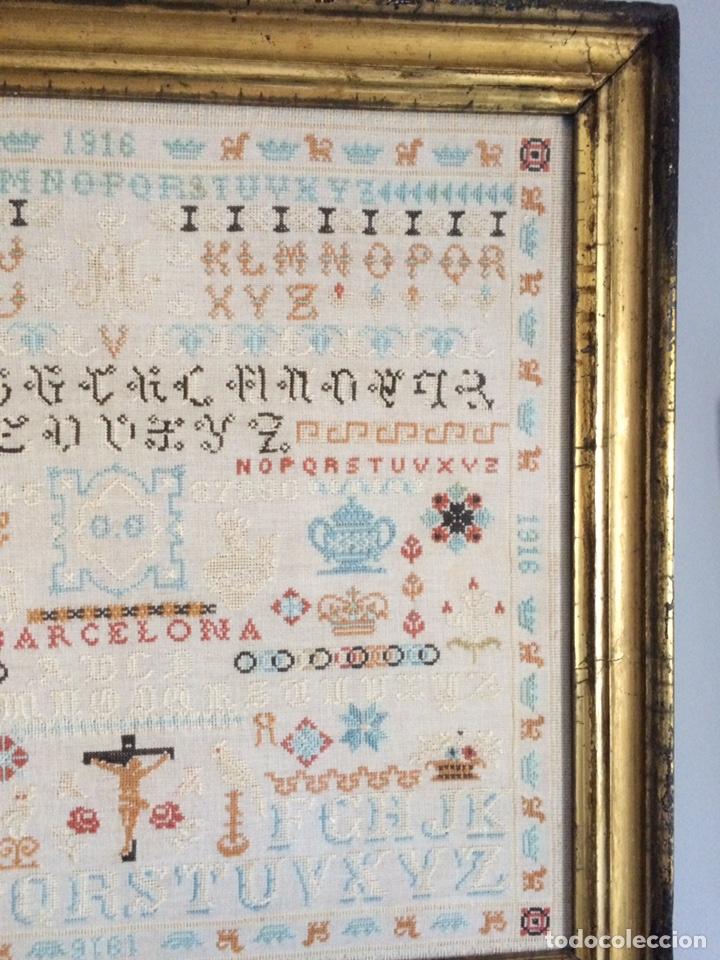 Varios objetos de Arte: Antiguo bordado de 1916 - Foto 5 - 214463178