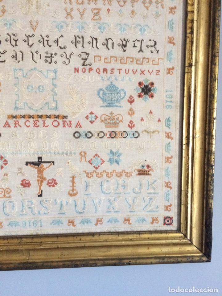 Varios objetos de Arte: Antiguo bordado de 1916 - Foto 6 - 214463178