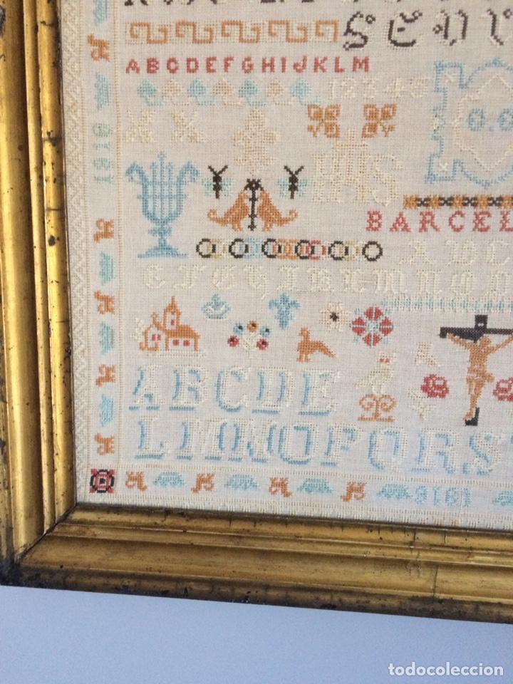 Varios objetos de Arte: Antiguo bordado de 1916 - Foto 8 - 214463178