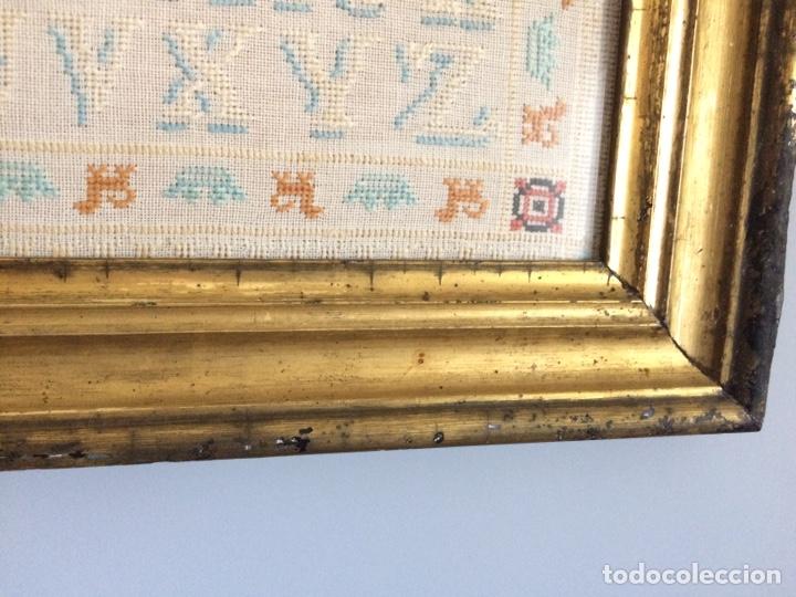 Varios objetos de Arte: Antiguo bordado de 1916 - Foto 10 - 214463178