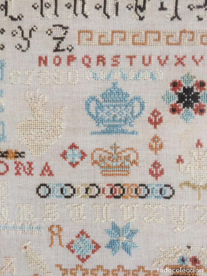 Varios objetos de Arte: Antiguo bordado de 1916 - Foto 14 - 214463178