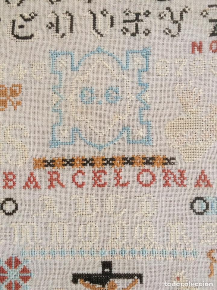 Varios objetos de Arte: Antiguo bordado de 1916 - Foto 16 - 214463178