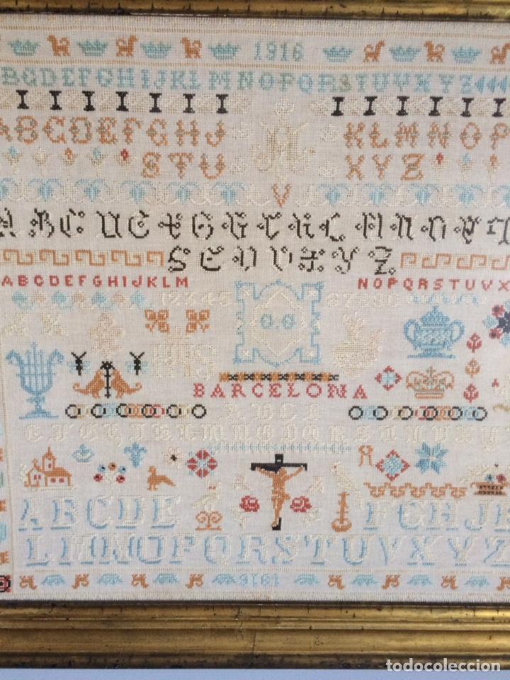 Varios objetos de Arte: Antiguo bordado de 1916 - Foto 21 - 214463178