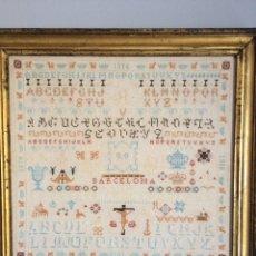 Varios objetos de Arte: ANTIGUO BORDADO DE 1916. Lote 214463178