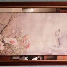 Varios objetos de Arte: CUADRO ROMANTICO. Lote 214781461