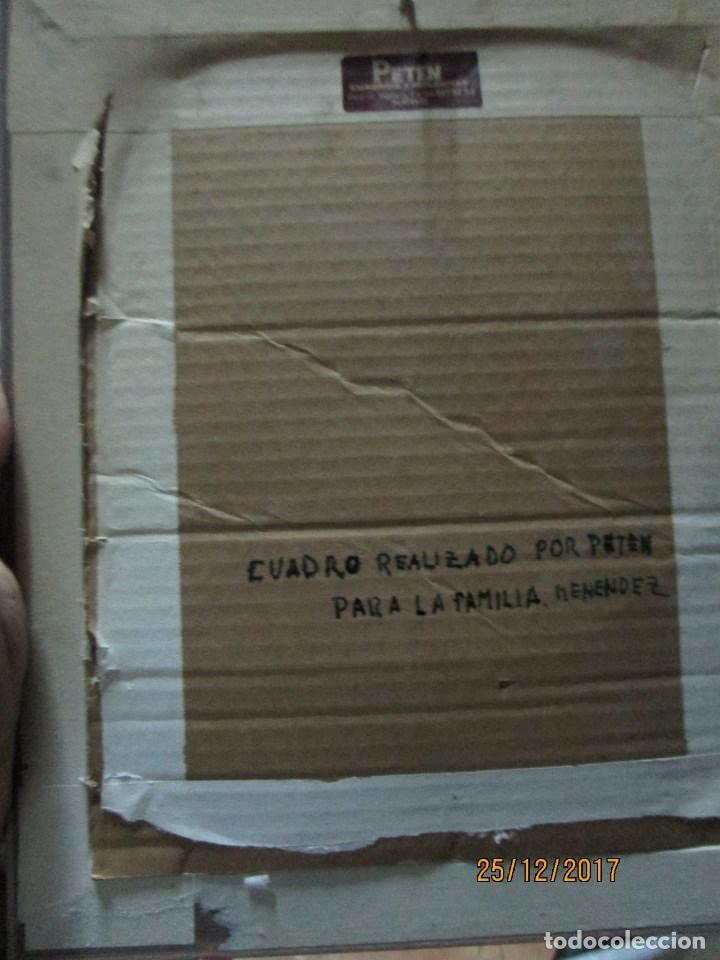 Varios objetos de Arte: ESCUDO HERALDICO MENENDEZ ESMALTE EN PORCELANA ENMARCADO POR PETEN ALICANTE - Foto 6 - 214812715