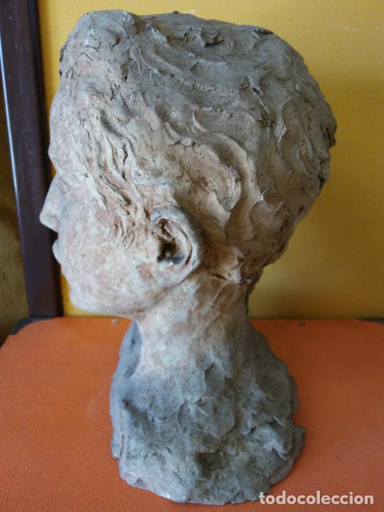 Varios objetos de Arte: ORIGINAL. OBRA DE FRANCESC GASSÓ. HOMBRE. EN CERÁMICA. MEDIDAS 27*19*17 CM - Foto 3 - 214818513