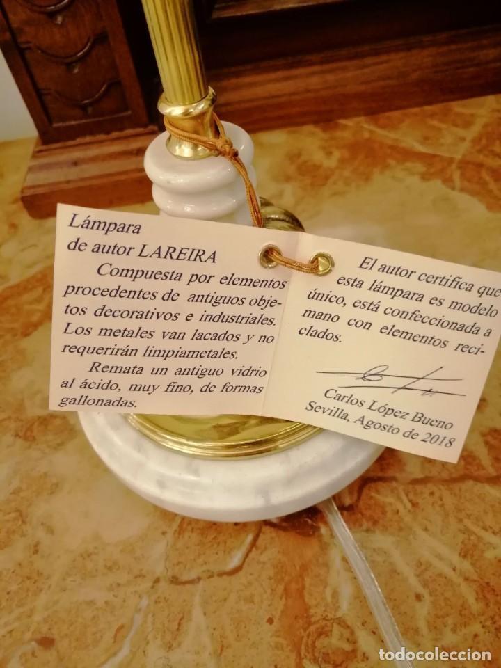 Varios objetos de Arte: Lámpara de autor LAREIRA - Foto 3 - 215118288