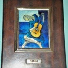 Varios objetos de Arte: ESMALTE CON REPRODUCCIÓN DE OBRA DE PICASSO. Lote 216527120