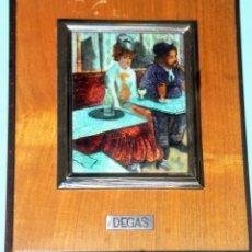 Varios objetos de Arte: ESMALTE CON REPRODUCCIÓN DE PINTURA DE DEGAS. Lote 216527141